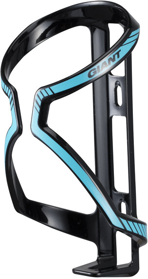 Giant AirWay Sport Water Bottle Cage matt black/glossblue